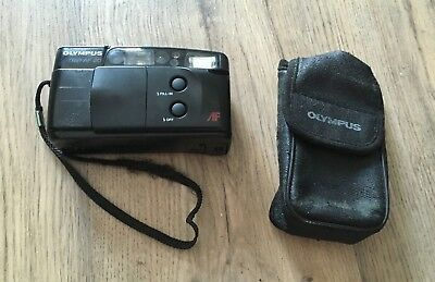 Olympus Trip AF 20 Film Camera- With Case- Untested- Read Description