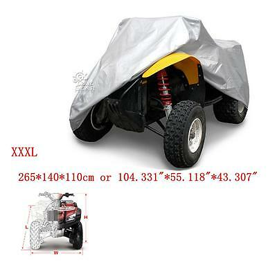 XXXL 190T ATV Outdoor Waterproof Cover For Kawasaki Brute Force 300 650 750