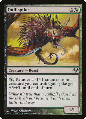 Quillspike Eventide NM-M Black Green Uncommon MAGIC THE GATHERING CARD ABUGames