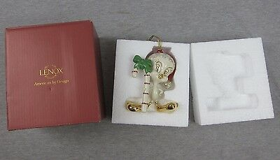Lenox Tweety with Cane Ornament Christmas Xmas