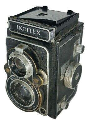 Zeiss Ikon Ikoflex TLR Film Camera with Zeiss Tessar 75mm f3.5 Lens