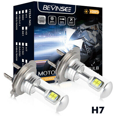 Bevinsee H7 LED Headlight Kit Bulb Fits For BMW K1200GT K1300S R1200GS R1200RT