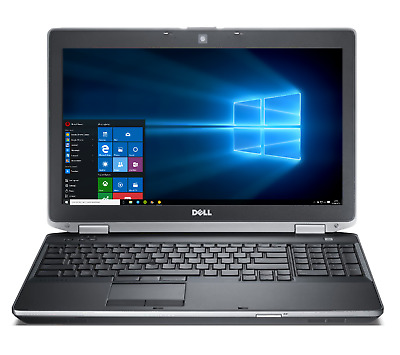 "Dell 15.6"" Laptop i5 3.20GHz 16GB SSD DVD+RW WebCam HDMI Wireless Windows 10"