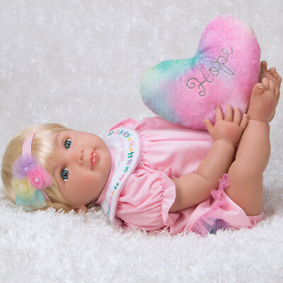 Paradise Galleries Realistic Reborn Baby Girl Doll Rainbow Blessings: Hope