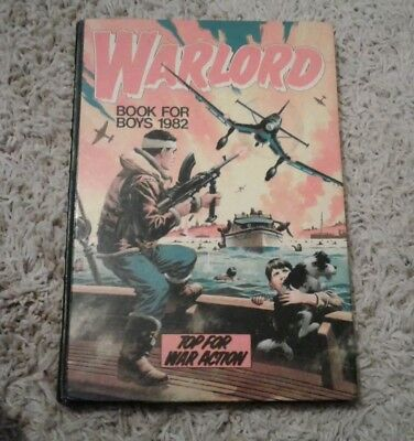 Warlord book for boys 1982