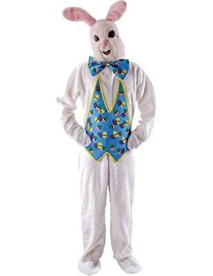 Adult Unisex Animal Easter Bunny Rabbit Mascot Fancy Dress Outfit Costume (7ej)