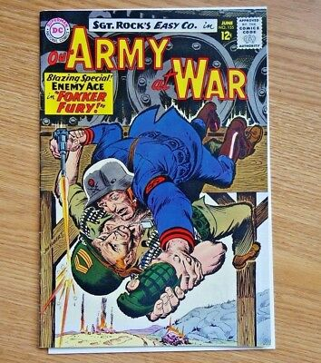 1965 DC Our Army at War #155 3rd Enemy Ace