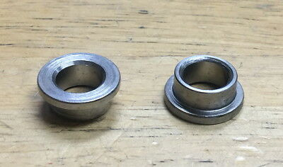 2 x SHADOW CONSPIRACY BMX BICYCLE AXLE NUTS WASHERS 3//8 FIT HARO CULT SE SILVER