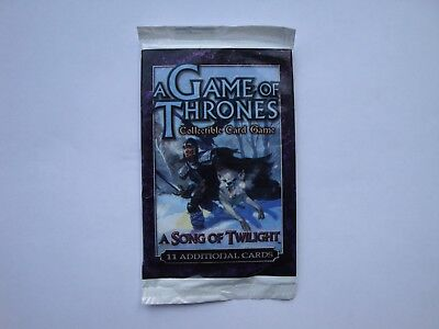 A Song of Twilight Booster - A Game of Thrones - CCG TCG LCG - New & Sealed
