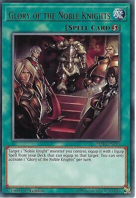 Yu-Gi-Oh: Glory of The Noble Knights - MP18-EN207 - Rare Card - 1st Edition