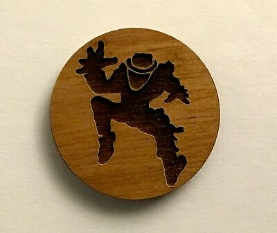 "Operation Ivy Wood Pin 1"" Tiny Riot"