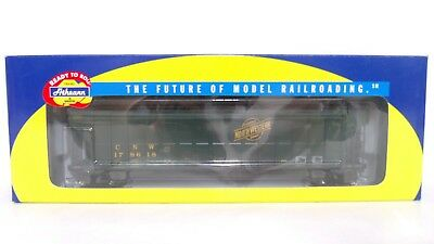 Athearn RTR HO C&NW Chicago North Western 54' FMC Covered Hopper Car 73825 LNIB