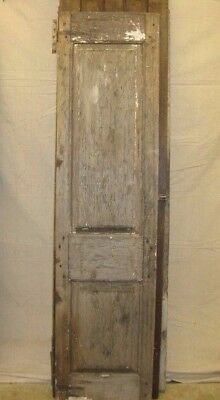ANTIQUE EARLY 1800s NARROW DOUBLE PANEL PANTRY CHIMNEY CUPBOARD CABINET DOOR