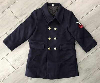 Vintage Kids Fieldston Clothes Coat Size 6 Youth