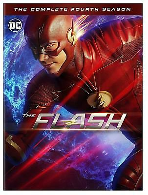 The Flash Season 4 Dvd Brand New Sealed The Complete Fourth Season Dc Comics Cw