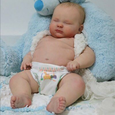 "Realborn® 3 Month Joseph Sleeping (23"" Reborn Doll Parts Kit)"