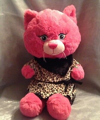 Build a Bear Pink Kitty Cat