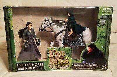 LOTR Deluxe horse and rider set / Arwen and Asfaloth NIB