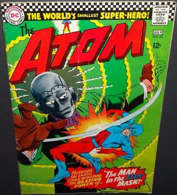 "The Atom #25 1966 5.0 ""The Man in the Ion Mask!"" c/s; Movie? Value=$15 50%Off"