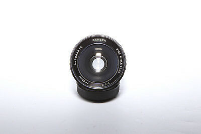 Carson M42 Mount 35mm f/2.8 Mount Wide Angle Prime Lens - Clean Glass