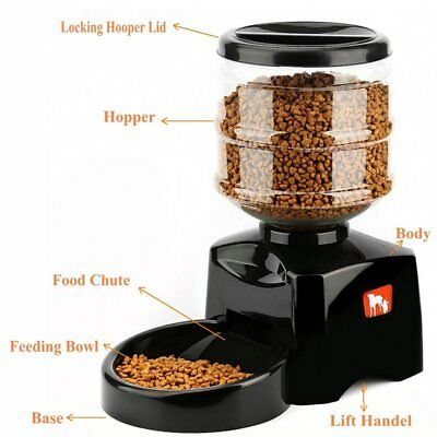 PetSafe Pet Feed Automatic Dog Cat Feeder with Voice Message Recording EK