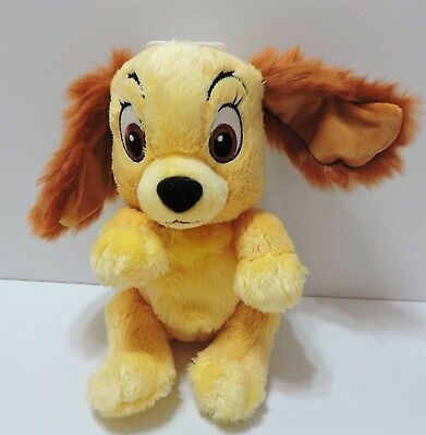 """Disney Babies Lady & The Tramp Plush Soft Toy Park Exclusive 10"""" No Blanket"""