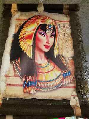 Hand Carved Egyptian Queen Cleopatra wall art home decor made in the Egypt
