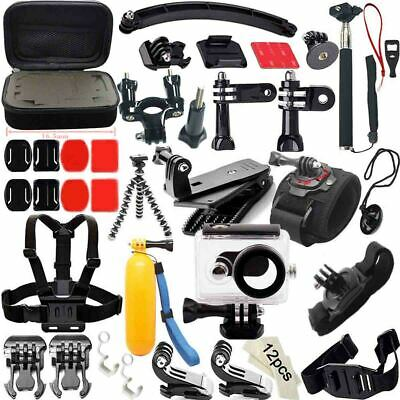For GoPro Hero 6 5 4 6 3 Session Accessories Camera Mount suction Cup Stick Kit.