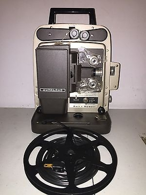NICE SUPER 8mm VINTAGE BELL & HOWELL MODEL 346A AUTOLOAD MOVIE FILM PROJECTOR
