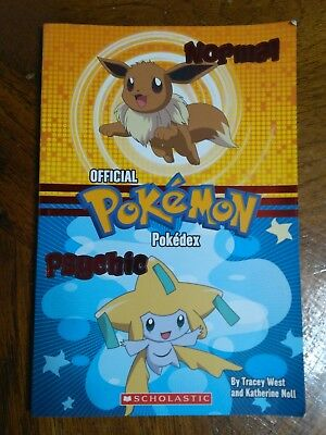 OFFICIAL POKEMON POKEDEX Normal Psychic Guide book by Tracey West/Katherine Noll