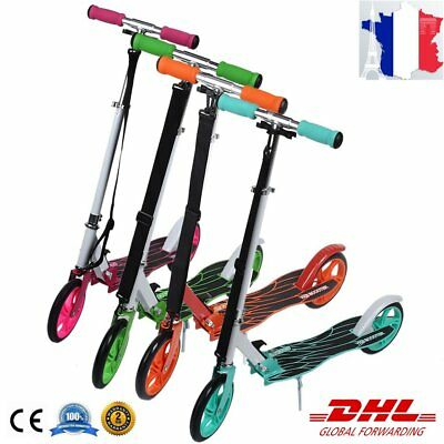 Adulte Trottinette Scooter Roller City roller Roller pour repliable Balancing TO