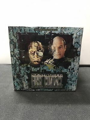 StarTrek First Contact Cinema Collection Sealed TCG Slightly Damaged Box x1
