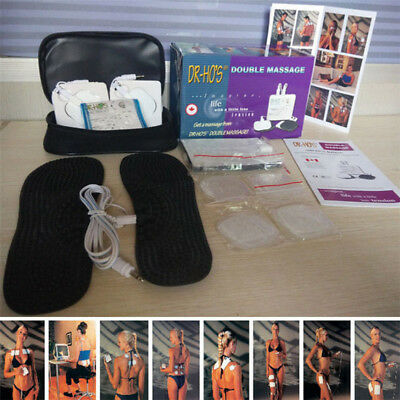 DR HO'S Dual Double Muscle Massager Pain Relieve relax Stimulator Therapy System