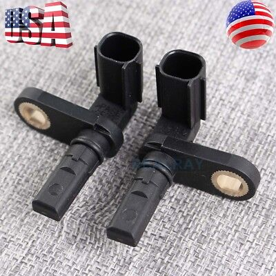 2x ABS Wheel Speed Sensor for 07-17 Toyota Tundra 4.0L 4.6L 4.7L 5.7L Front&Rear