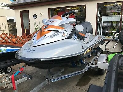 2008 Seadoo RXT-X 255hp, Bramber Roller Trailer - Cover - Fully Serviced!