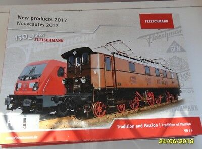 Fleischmann HO/N scale catalogue. 2017 new products NEW