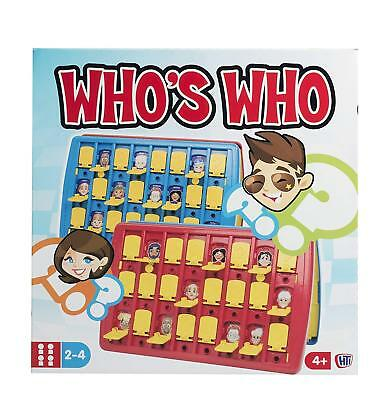 Classic Whos Who Guess Traditional Board Game Kid Adult Family Christmas Fun Toy