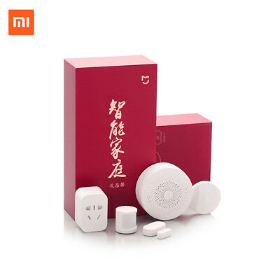 Xiaomi Smart Home Automation Mijia 5-in-1 Portable Kit  LED Gateway Wi-Fi Switch