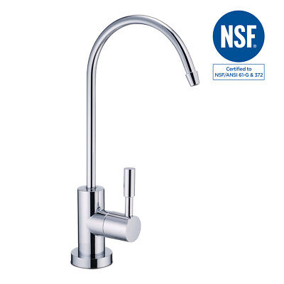 NSF Lead-Free Water Filtration Reverse Osmosis Faucet (Chrome)