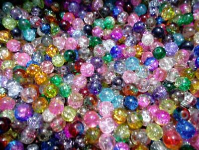 180pcs 12mm Acrylic Faux Pearl Round Beads Mixed Colors  M01 Assorted