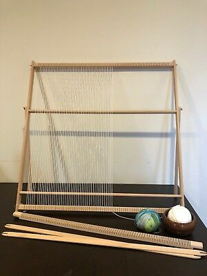 XXL Extra Large Weaving Loom Kit (89cm x 87cm) | Professional Tapestry Loom