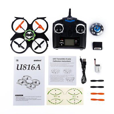 2.4GHz 4 Channels RC 6 Axis Gyro UFO Aircraft Quadcopter for UDI RC U816A F3