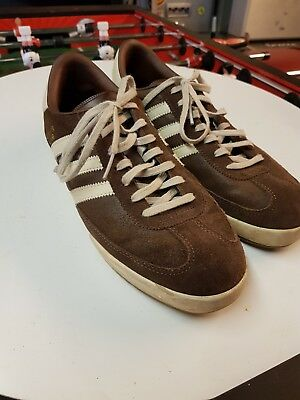 official photos 70899 c3363 Adidas Originals Mens Beckenbauer All Round Trainers size 9 Vintage Brown  White