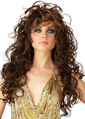 California Costume Collections Brown Seduction Wig