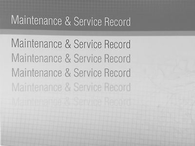 LAND ROVER Service Book New Unstamped History Maintenance Record Generic Blank