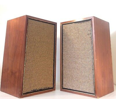 Vintage Goodmans of England GS-7A 3-Way Speakers- Extremely Rare