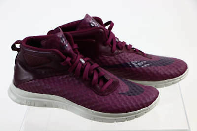 5cd7a1fa08a9 Nike Berry Purple Lace Up Free 3.0 Athletic High Top Sneaker 10