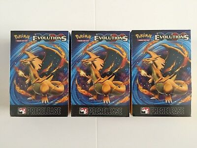 LIMITED RARE New Pokemon TCG XY Evolutions Pre Release PreRelease Box Sealed
