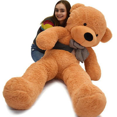 "Giant Teddy Bear 63"" Plush Stuffed Accompany Huge Animal Toy Birthday Xmas Gift"