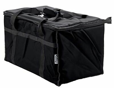 Insulated Food Delivery Bag Pan Carrier Commercial Quality Heavy Duty Nylon 23""